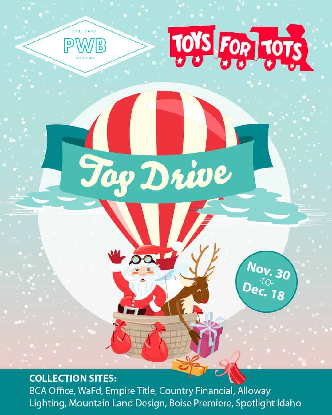 Toys for Tots: Toy Drive