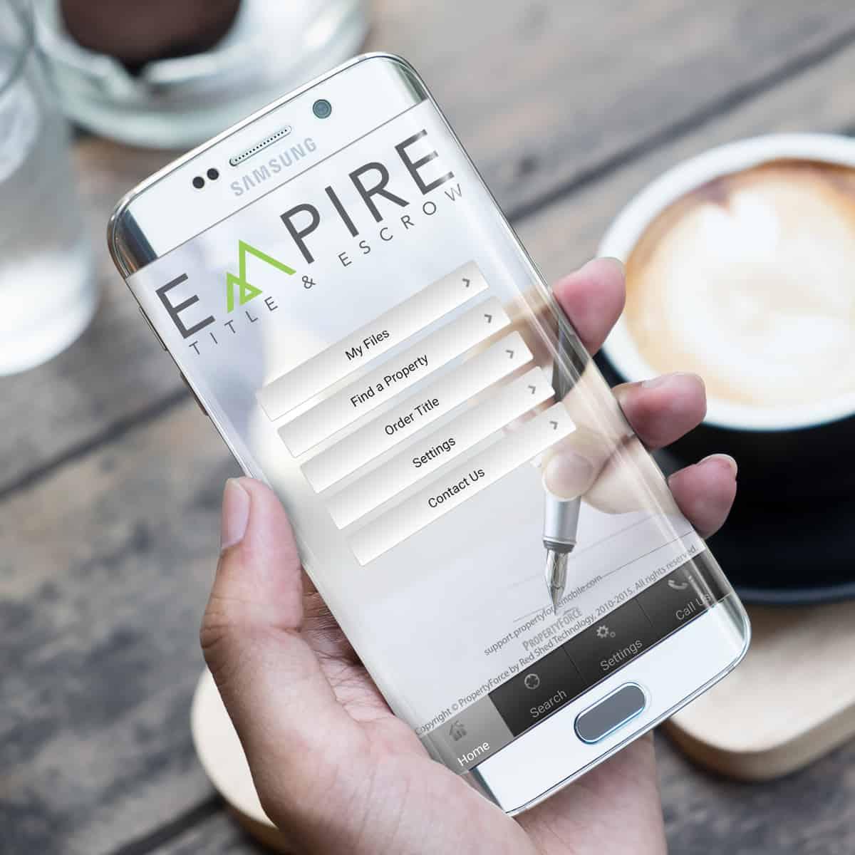 Empire Title Mobile App Photo